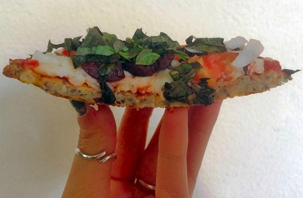 Ta daaaa! No weak, crumbling crust here!
