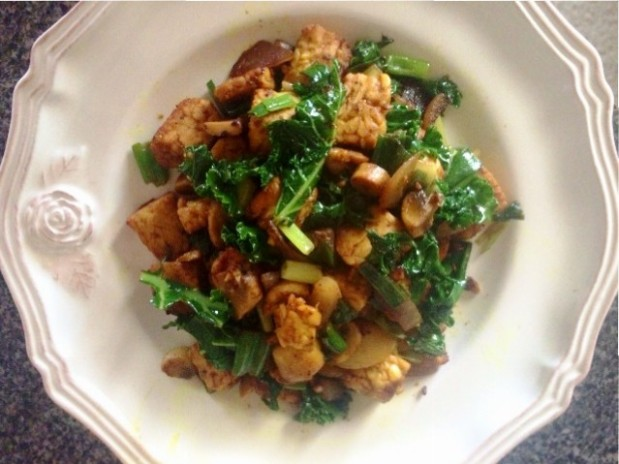 tempeh meal