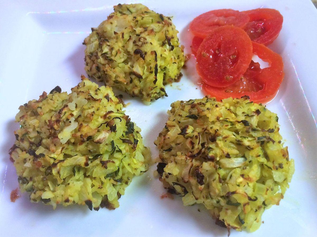 Crispy Vegan Rice Cakes
