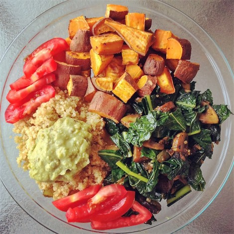 How perfect, colorful, healthy and tasty does that look?
