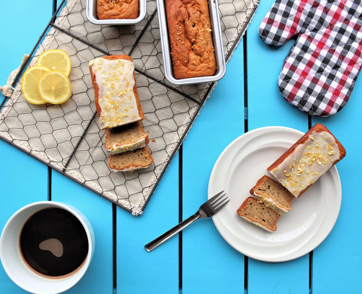 Lemon Poppy seed Cake - Gluten Free!