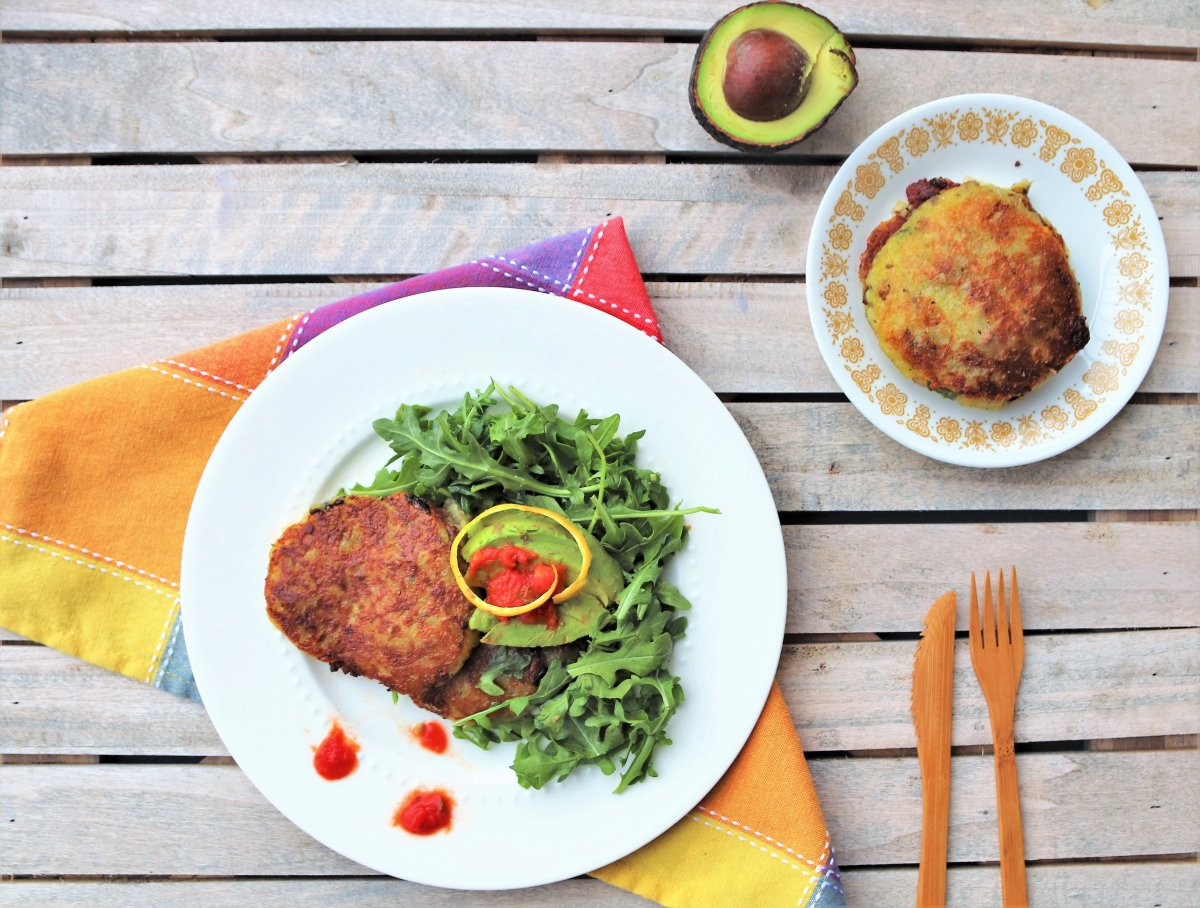 Stuffed Potato Pancakes - Vegan, Vegetarian or Carnivorous!
